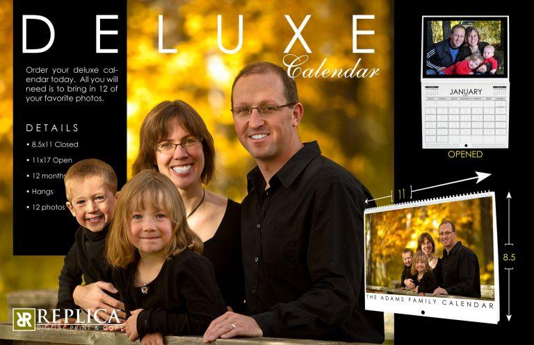 Calendar Design | InDesign | Photoshop | Illustrator