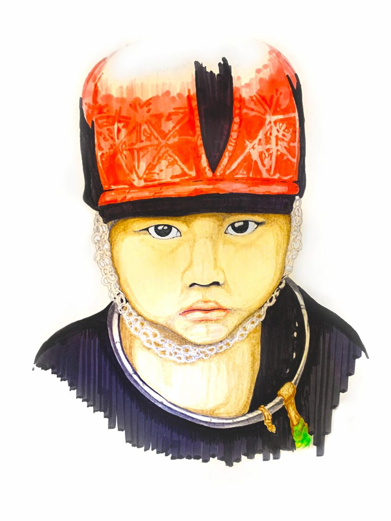 Markers Kid 02 | Alan Tamashiro